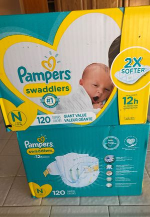 Brand new newborn diapers for Sale in Las Vegas, NV