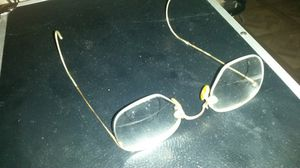 Antique 12k GF Art craft wire rim glasses for Sale in Houston, TX