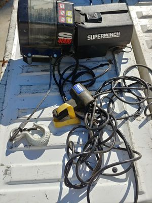 superwinch s4000 winch for Sale in Lake Elsinore, CA