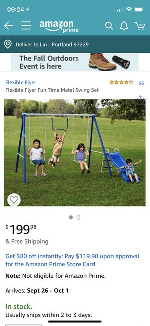 outdoor swingset for Sale in Portland, OR