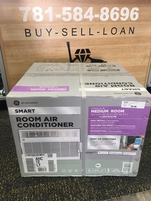 GE 550 sq ft Smart Window Air Conditioner 11900 BTU ENERGY STAR 115V AC. BRAND NEW for Sale in Lynn, MA