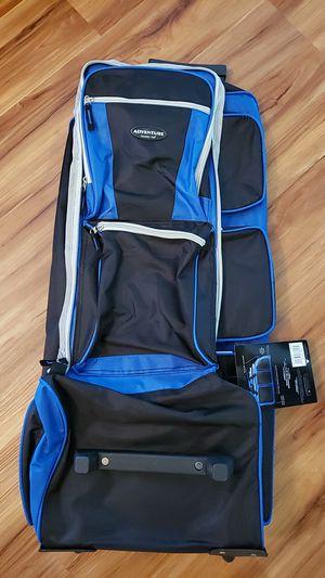 "30"" Adventure Travelers Club Rolling Duffle bag - New Unused for Sale in San Diego, CA"
