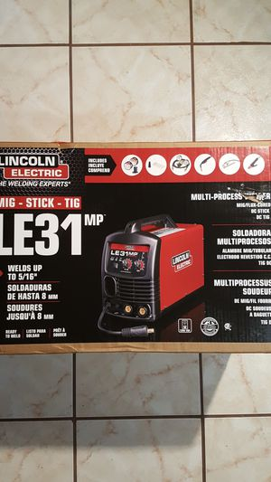 New Lincoln Electric 140amp Multi- Process Stick/MIG/TIG Welder for Sale in Placentia, CA