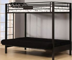 Futon bunk bed for Sale in Howell Township, NJ