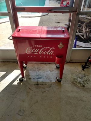 Coca Cola Cooler $100 for Sale in Davie, FL