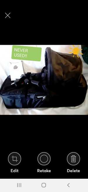 NEW CITY PRAM BABY JOGGER BASSINET W/ ATTACHMENTS for Sale in Las Vegas, NV