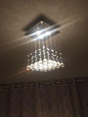 Crystal raindrop chandelier for Sale in San Francisco, CA