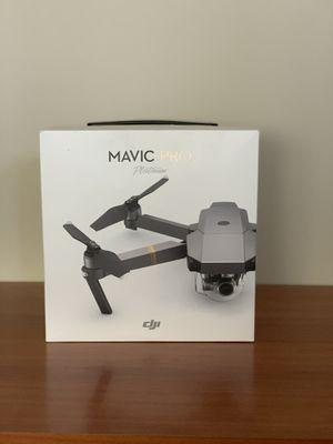 Dji Mavic Pro Platinum Quadcopter drone FIRM PRICE! for Sale in San Diego, CA