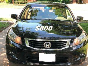 $800 🔥 Non Smoker 🔥 2OO9 Honda accord SPORT Runs and drives very smooth for Sale in Arlington, VA
