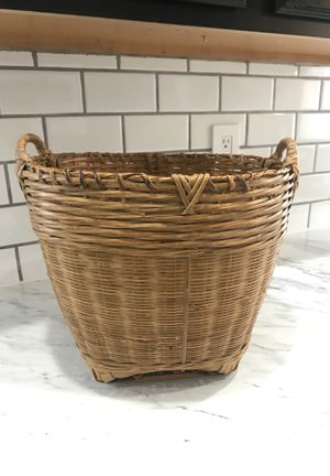Basket to put a fake palm or real potted plant for that boho look for Sale in Auburn, WA