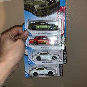 Hot Wheels Lot Of 4 for Sale in Fountain Valley, CA
