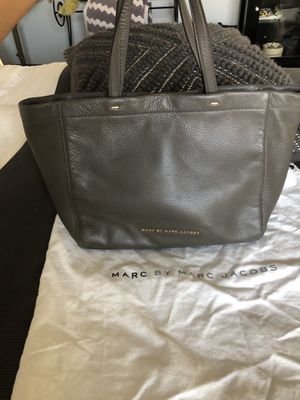 Marc Jacobs Leather Tote Handbag in Taupe for Sale in Phoenix, AZ