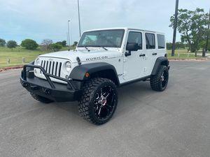 2014 Jeep Wrangler Unlimited for Sale in San Antonio, TX