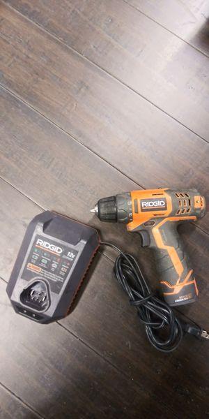 Rigid 12v drill kit for Sale in Las Vegas, NV