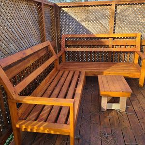 Handmade Patio Or Deck Sectional for Sale in Wake Forest, NC