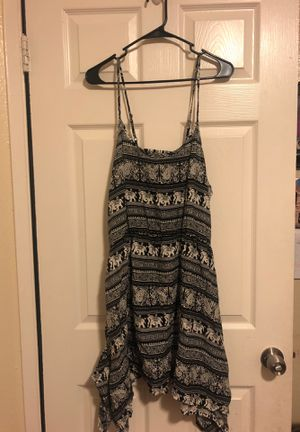 Black elephant print dress for Sale in Hayward, CA