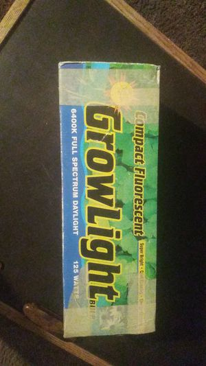Compact fluorescent grow light bulb for Sale in Wichita, KS