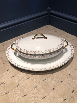 Limoges vegetable server with tray for Sale in Eighty Four, PA