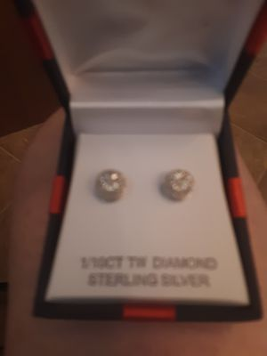 Diamond earrings for Sale in Alton, IL