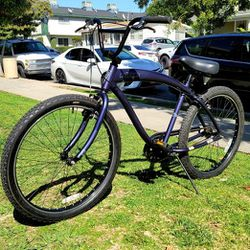 """Nirve """"Night Owl"""" Aluminum Handmade Beach Cruiser Free Wheel Bike 26"""" EXCELLENT CONDITIONS!!! for Sale in Whittier,  CA"""