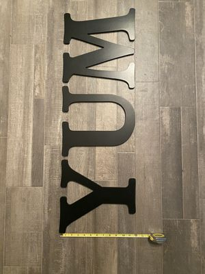 Wooden Letter Sign - YUM for Sale in Frisco, TX