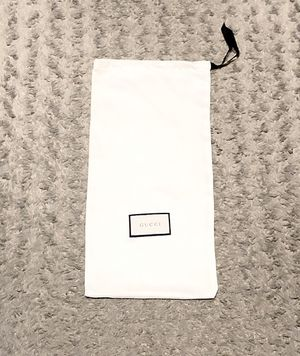 Authentic Gucci dust bag size 17in L 8 1/2 W for Sale in Washington, DC