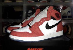 """Air Jordan 1 """"Spiderman"""" Origin sz 12 for Sale in Dallas, TX"""