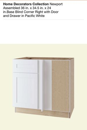 Assembled Kitchen Cabinet - Blind Corner 36in for Sale in Romeoville, IL