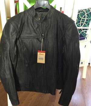 Indian Motorcycle Men's Hedstrom Leather Jacket size large for Sale in Pataskala, OH
