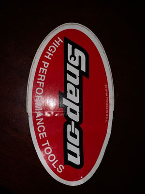 Vintage snap on tools sticker for Sale in San Diego, CA