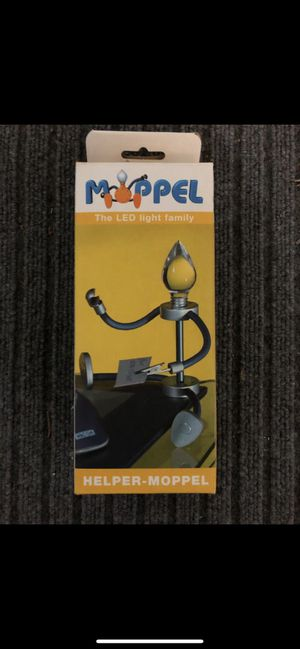 Moppel LED light - magnetic reading light with clips, USB connector BRAND NEW. Great for reading, studying, office work, being productive! for Sale in Vista, CA