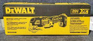 Dewalt 20V Max XR Cordless 3 Speed Oscillating Multi-Tool for Sale in Monroe Township, NJ