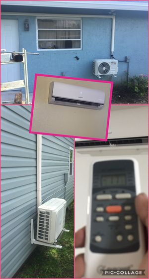 Air conditioner AC Split Minisplit Mini split Brackets instalación installed 🥇🛠️ for Sale in Hialeah, FL
