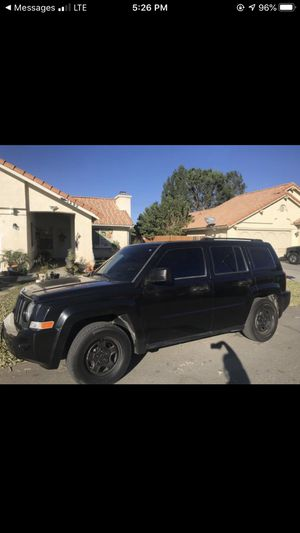 2008 JEEP PATRIOT 3600 OR BEST OFFER STICK SHIFT for Sale in GLMN HOT SPGS, CA