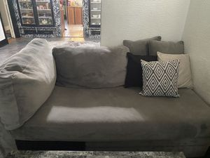 Grey Couches Sectional.. for Sale in Milwaukee, WI