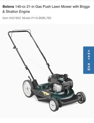 Gas Push Lawn Mower for Sale in Greenville, SC