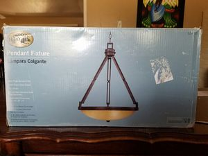 Hampton Bay 3-Light Pendant - $65.00 OBO for Sale in Scottsdale, AZ