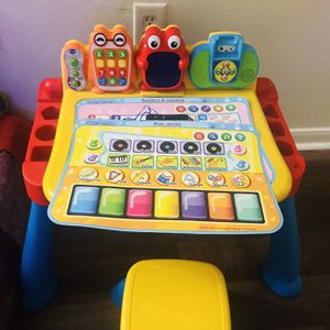 Kids Learning Table Chair / Activity Center for Sale in Austin, TX