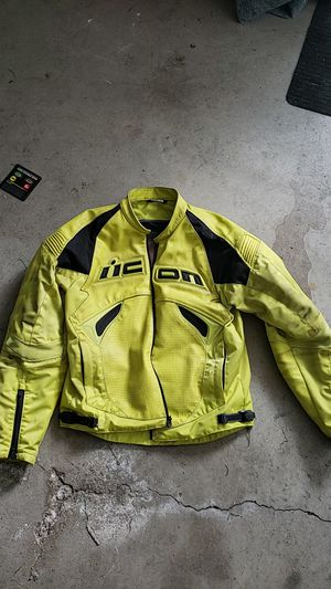 Icon Santuary perforated leather motorcycle jacket for Sale in Grove City, OH