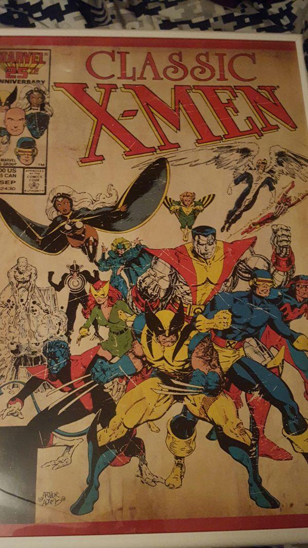 Marvel X-Men Poster