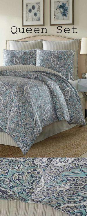 100% Cotton Stone Cottage Queen Comforter Set for Sale in Boca Raton, FL