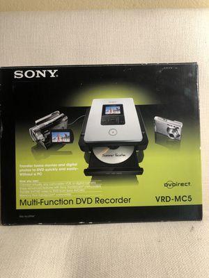 "Sony DVD Recorder DVDirect™ VRD-MC5 Multifunction DVD Burner w 2.5"" Screen for Sale in Frisco, TX"