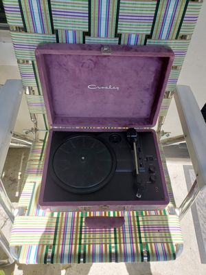 Crosby Portable Record Player with Bluetooth for Sale in Aurora, CO
