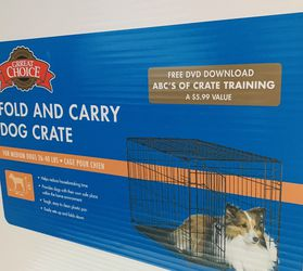 New Crate And Carry For Medium Dogs! for Sale in Silver Spring,  MD