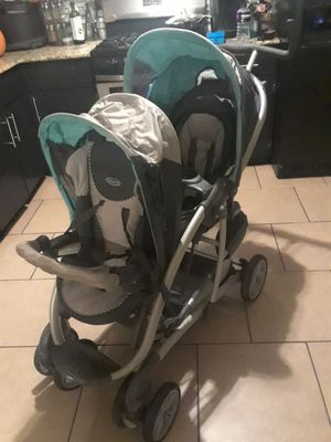 Double stroller for Sale in Kiefer, OK