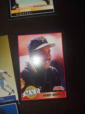 Barry bonds mark mcgwire Sammy Sosa Ken griffey Jr baseball card for Sale in Emerald Hills, CA