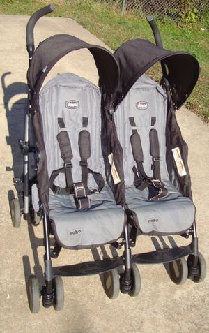 Chicco Echo Side by Side Double Stroller for Sale in Philadelphia, PA