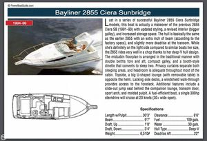 1999 Bayliner Ciera 2855 Beautiful Condition Great Lakes Boat for Sale in Land O Lakes, FL
