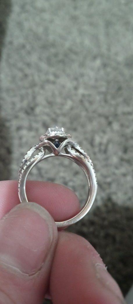 Vera Wang Love Collection Wedding Ring Size 7