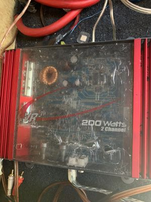 Vr3 200watt 2 channel amp(old school) for Sale in Gainesville, FL
